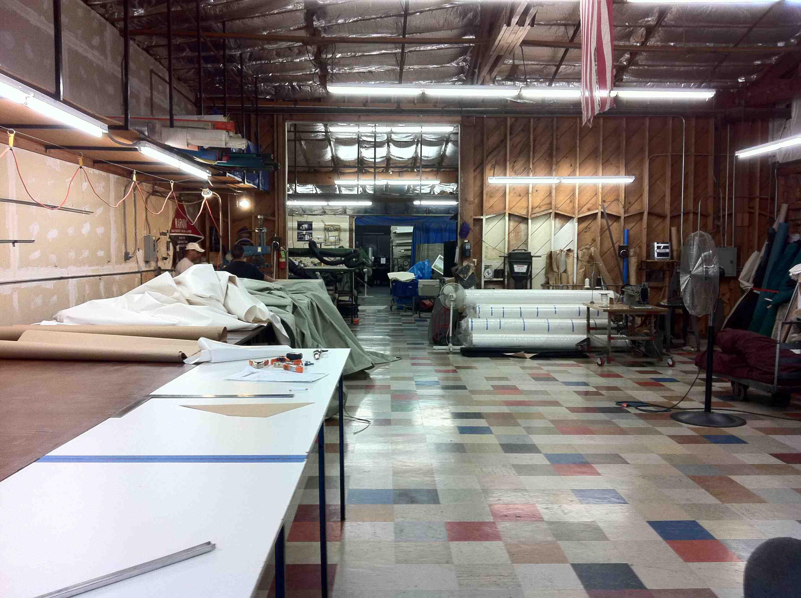 Tour Our Shop Js Canvas Awnings Of Sacramento
