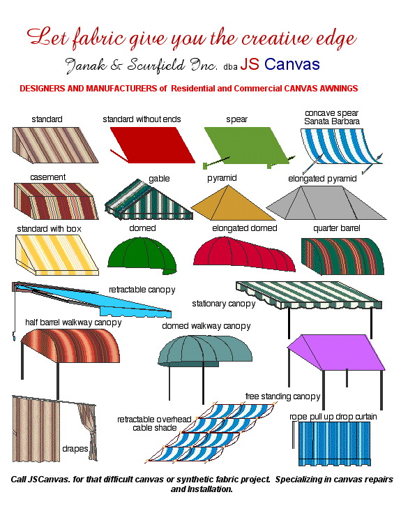 Awnings Amp Canopies Js Canvas Awnings Of Sacramento