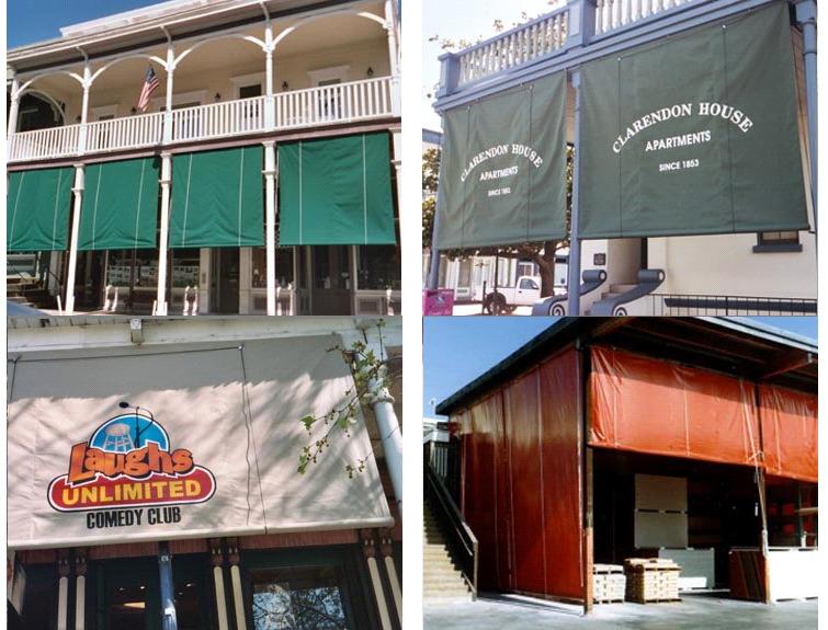 Drop Curtains Js Canvas Awnings Of Sacramento