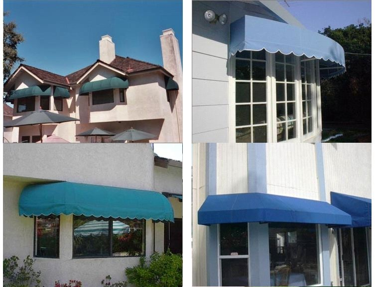Wonderful Bay Window Awning Using Sunbrella Fabric. Call ...