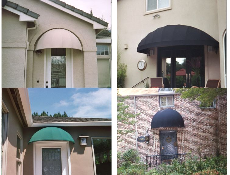 Domed Js Canvas Awnings Of Sacramento