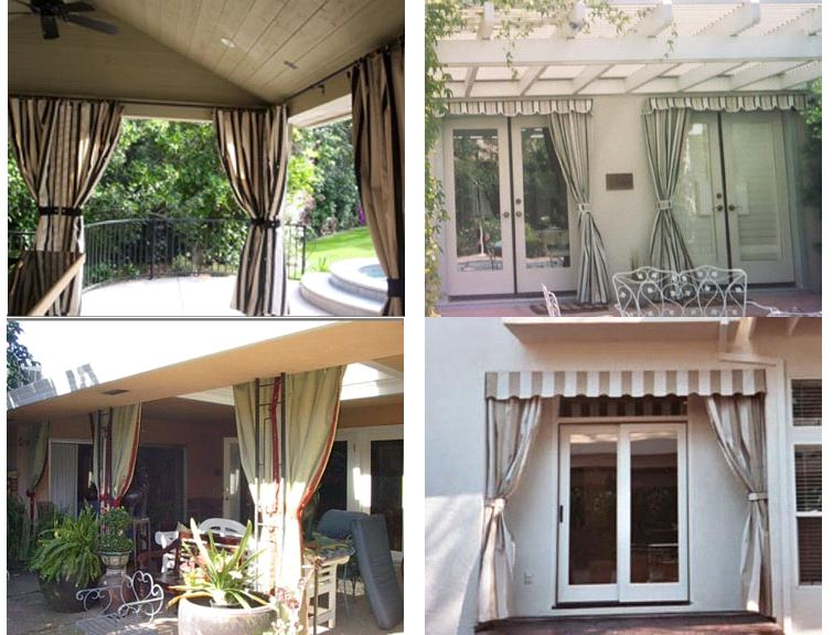 Drapes Amp Roll Down Drop Curtains Js Canvas Awnings Of