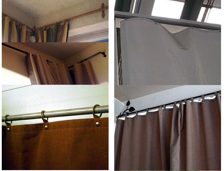 How To Hang Sheer Curtains In Different Ways Roll Down Outdoor Curtains