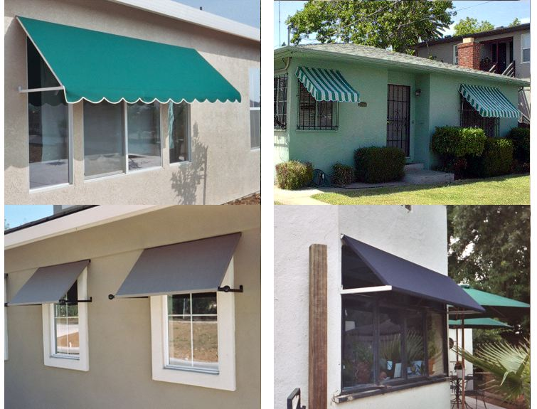 Standard Js Canvas Awnings Of Sacramento