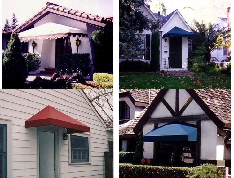 Pyramid Amp Gable Style Js Canvas Awnings Of Sacramento
