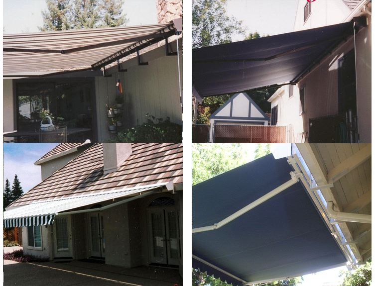 Retractable Solair Lateral Arm Js Canvas Awnings Of