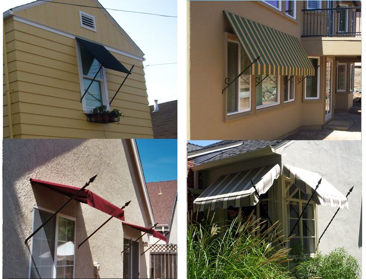 Spear Style Js Canvas Awnings Of Sacramento
