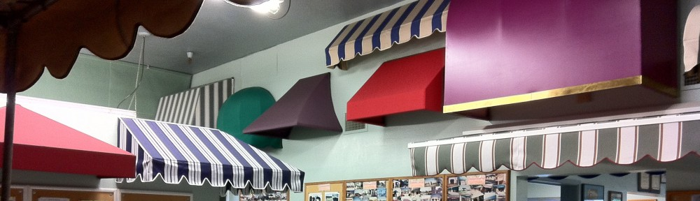 MANUFACTURERS OF CANVAS AWNINGS VINYL FABRIC PRODUCTS Since 1944