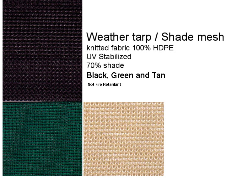 Weathertarp Mesh Js Canvas Awnings Of Sacramento