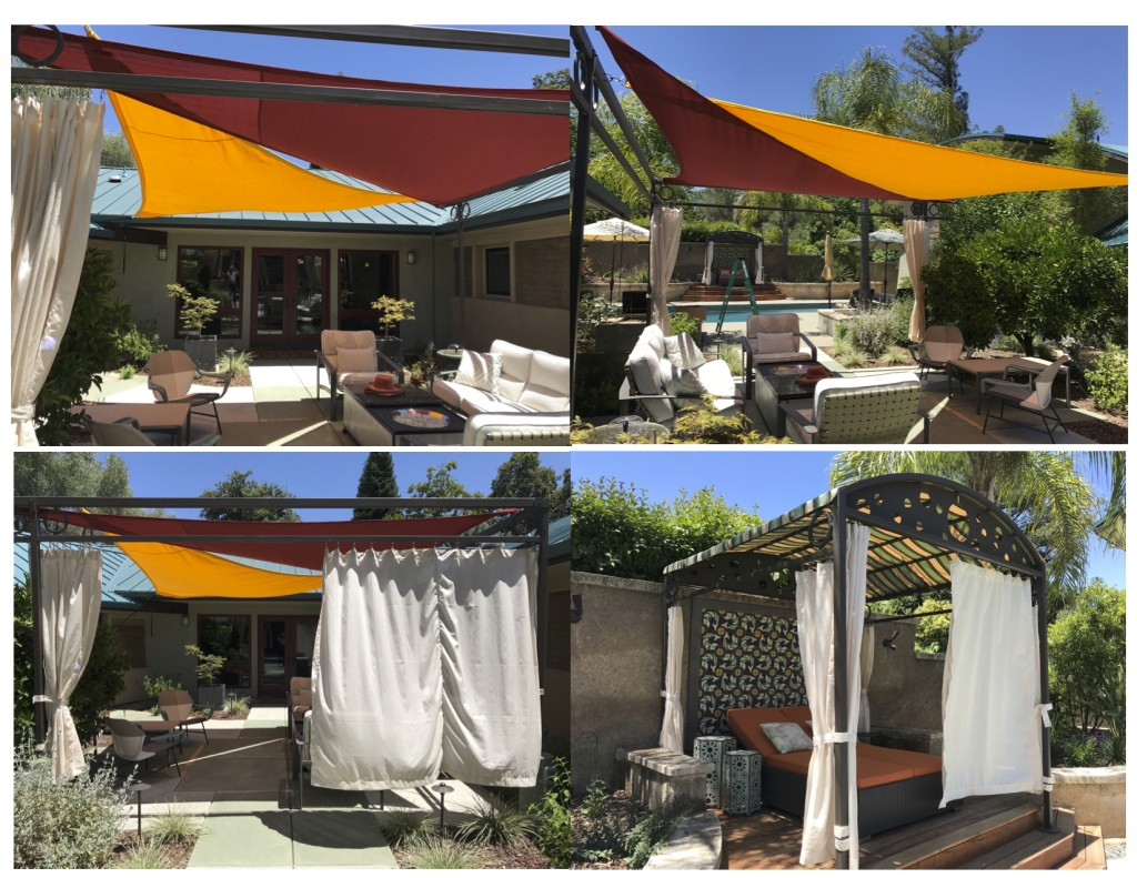 Shade Sails & Drapes