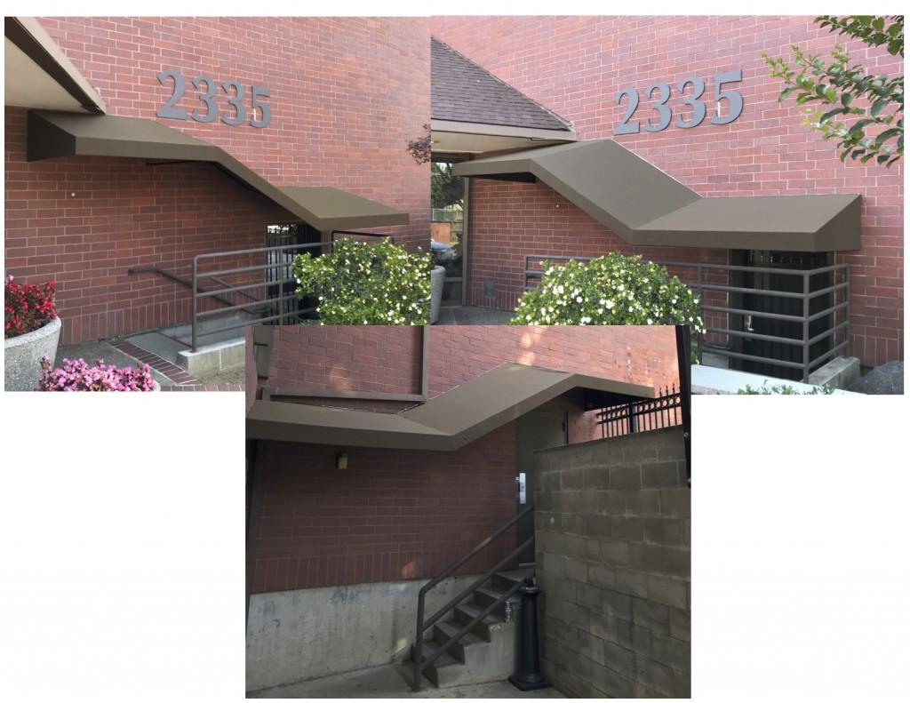 Staircase Walkway Canopies