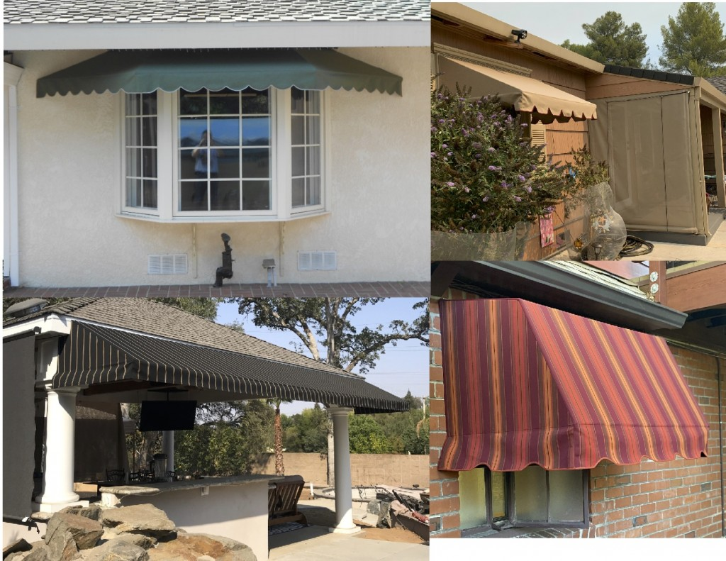 Sunbrella Residential Stationary Awnings