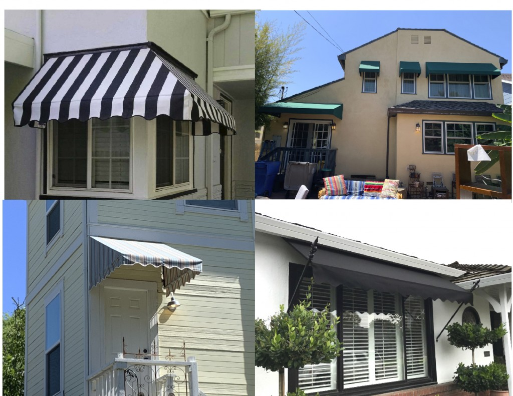 Standard Sunbrella Window Awnings