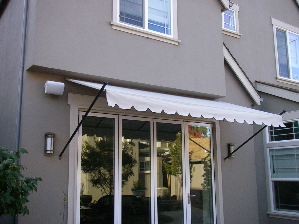 Rod Style Canopy using Sunbrella fabric